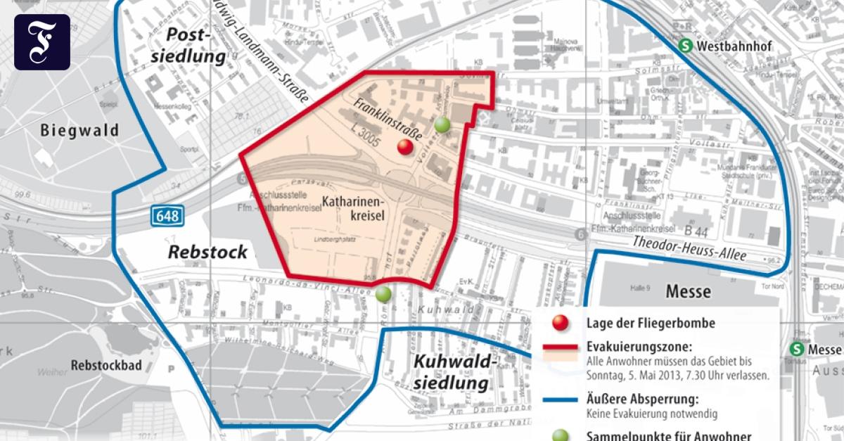 Evakuierungsplan Frankfurt