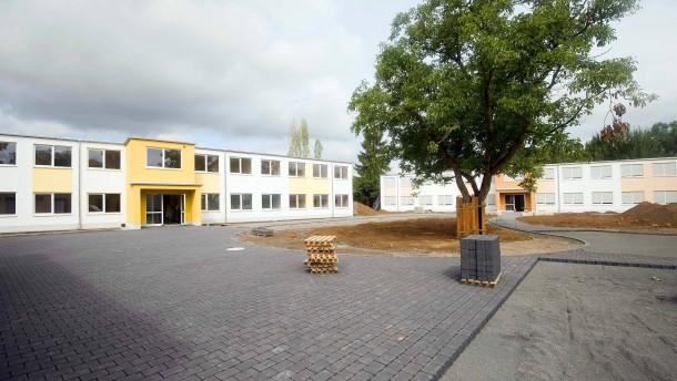 Neue Notunterkunft in Bad Homburg