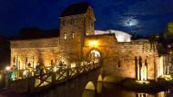 Zuschauermagnet: Bad Vilbeler Wasserburg, Schauplatz der Burgfestspiele