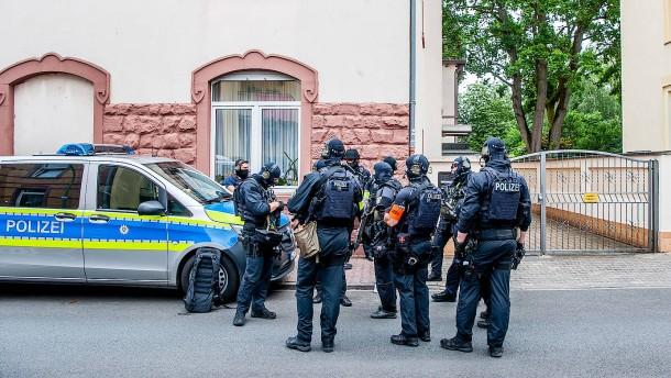 Mann bei Polizeieinsatz in Frankfurt erschossen