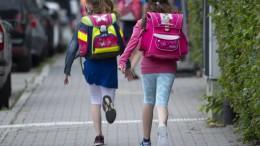 Heikler Wettlauf vor Schulbeginn