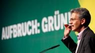 """""""Wir kämpfen erstmal für uns und nicht für die anderen"""", sagt der hessische Grünen-Landeschef Tarek Al-Wazir"""