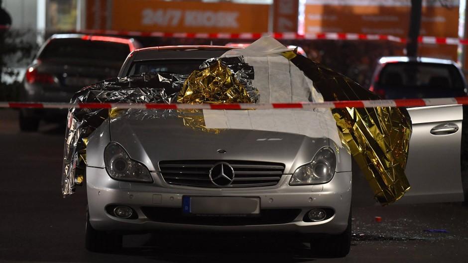 Täterfahrzeug: das Auto von Tobias R., der in Hanau neun Menschen in zwei Gaststätten erschoss