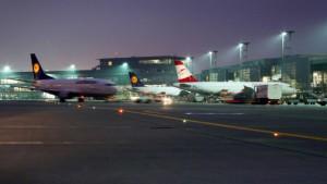 Auch der Flughafen rechnet mit einem Abschwung