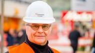 Baumeister: Georg Lackner hat einige Baustellen im Nordwestzentrum erlebt.