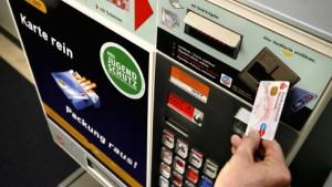 Zigarettenautomaten verschwinden Zug um Zug