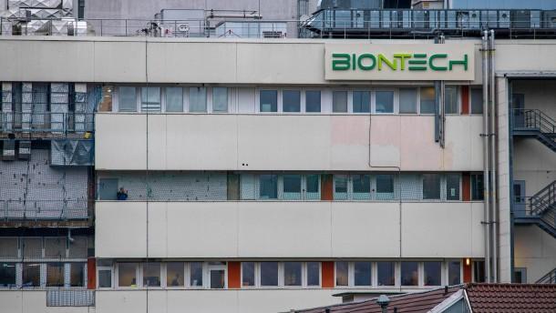 Biontech nimmt Impfstoff-Produktion in Marburg auf