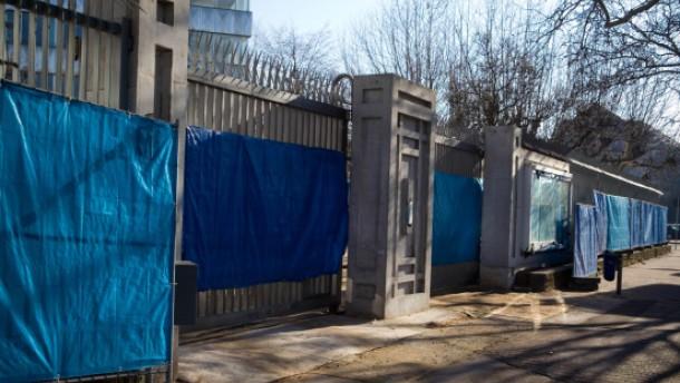 Die chinesische Festung in Sachsenhausen