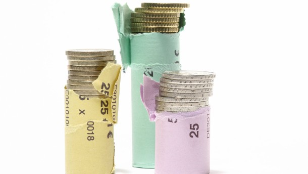 Auch Geld kostet neuerdings Geld