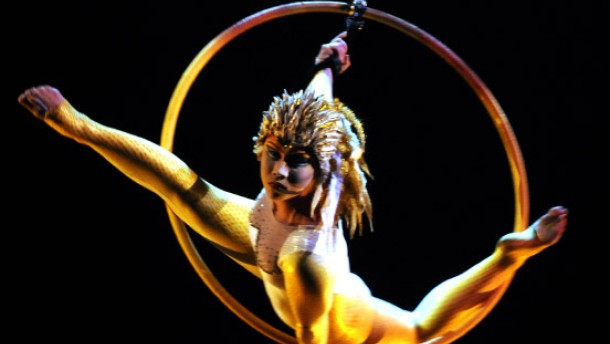 Cirque du soleil in frankfurt ikarus im wunderland for Ikarus frankfurt