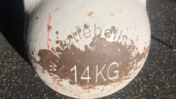 14 Kilogramm Gusseisen