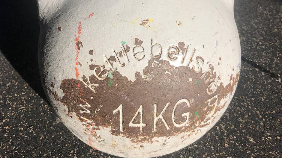 Vergriffen: Auch Kettlebells sind in der Corona-Krise zur Mangelware geworden.