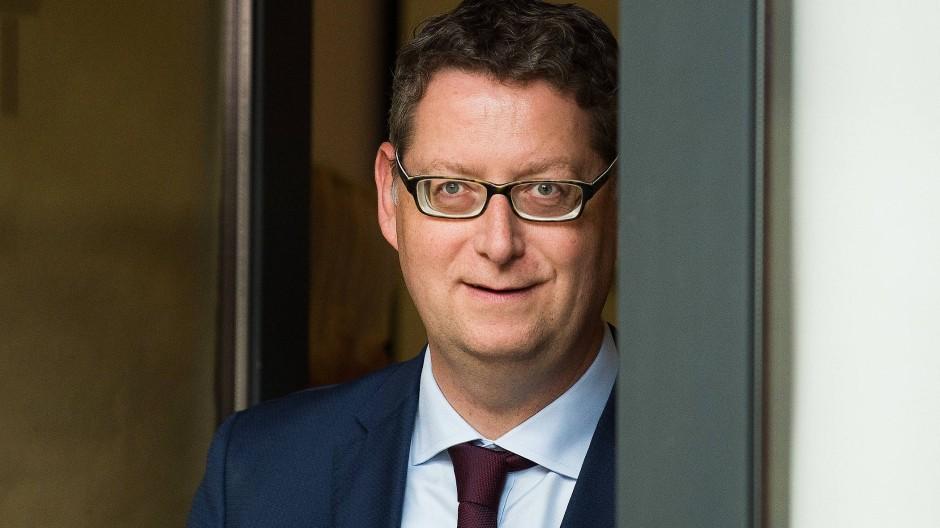 Erhebt Vorwürfe gegen die Grünen: Der SPD-Vorsitzende im Hesssichen Landtag Thorsten Schäfer-Gümbel.