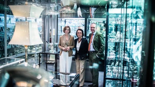 Silber Studio -  Das Frankfurter Traditionshaus von Inhaberin Utta Günther bietet seit 37 Jahren Produkte von Silberwarenherstellern auf der ganzen Welt,