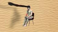 """Alles nur aus Nullen und Einsen: Ed Atkins, """"Warm Warm Warm Spring Mouths"""", 2013, Videostill"""