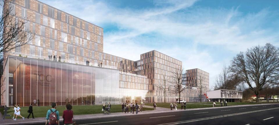Architektur Des Neubaus Frankfurt School Streitet Mit Stadtplanern