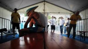 Übelkeit nach Wiesbadener Triathlon