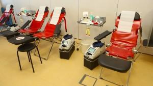 Es darf gerne weiter Blut gespendet werden