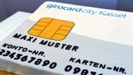 Forschungsgegenstand: Kontaktloses Bezahlen und andere Innovationen rund um die Girocard sollen künftig in Kassel getestet werden