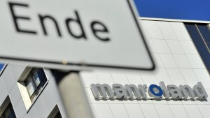 Insolvente Manroland AG vor dem Verkauf