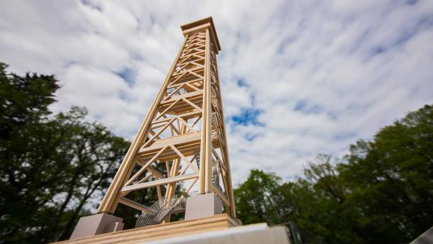 Goetheturm kann aus Edelkastanie wieder aufgebaut werden