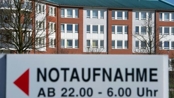 Kommunale Krankenhäuser in Not