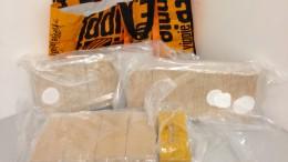 30 Kilogramm Heroin in Frankfurt sichergestellt