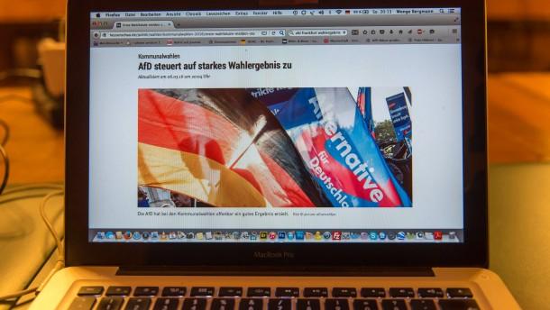 Trendergebnis verzerrt pro AfD - Freie Wähler im Blick