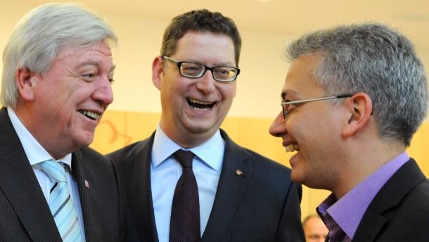 Generaldebatte zum Landeshaushalt in Wiesbaden