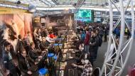 Auf dem Weg zum Highscore: Beim Computerspiel-Event ESL One trafen sich im Juni 30.000 Fans in der WM-Arena.