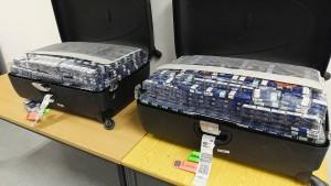 278.000 Zigaretten in Gepäck sichergestellt