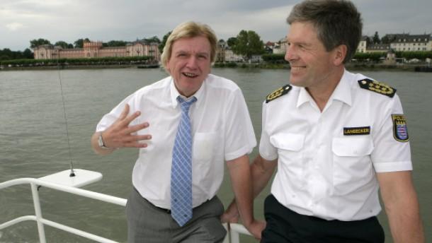 Volker Bouffier und Hans Langecker