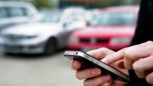 Parken per App mit minutengenauer Abrechnung