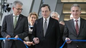 """""""Heute ist ein guter Tag für die EZB und für Frankfurt"""""""
