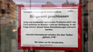 IT-Systeme der Stadt Frankfurt wieder online