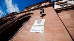 Prozessbeginn in Darmstadt