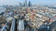 Umstrittene Frankfurter Altstadt wächst