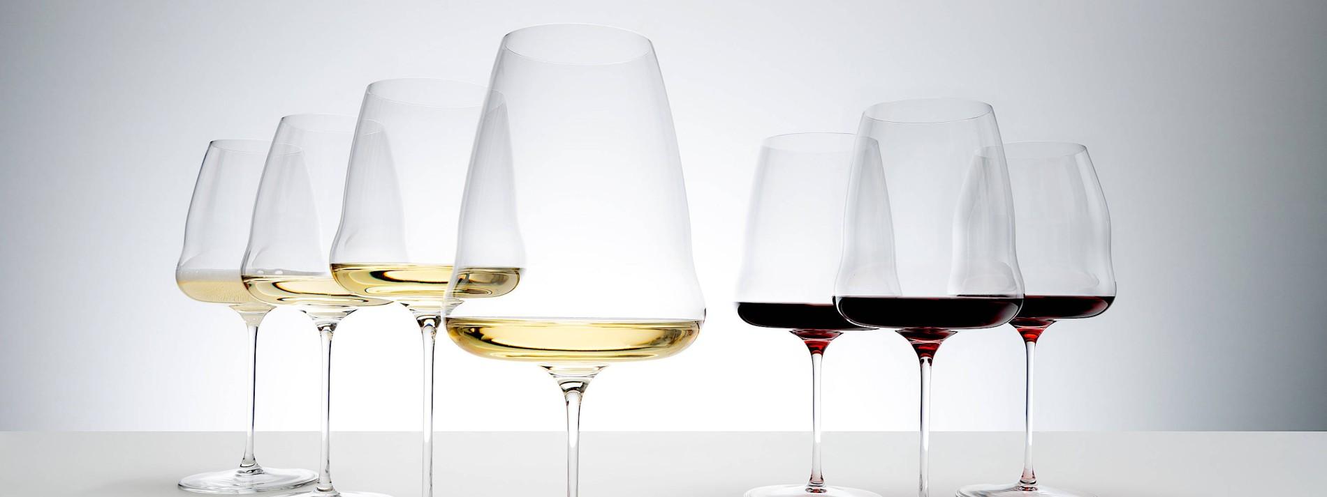Flügel für den Wein