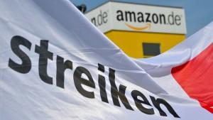 Verdi-Streiks bei Amazon zur Weihnachtszeit