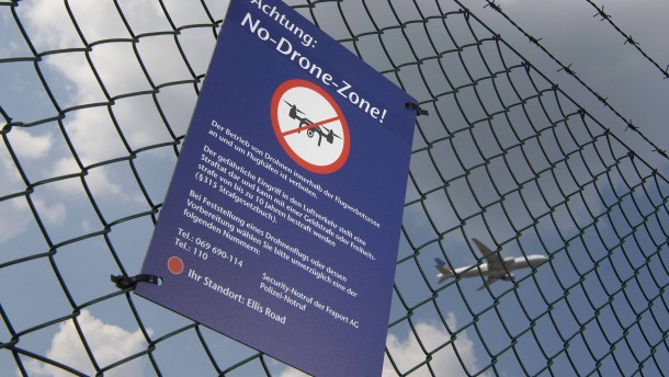 Fraport lobt Belohnung wegen Drohne aus