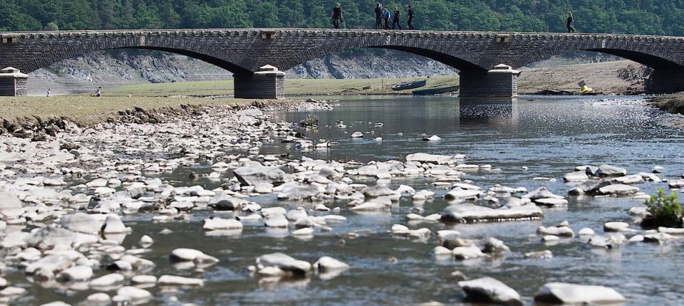 Wasserstand Rhein