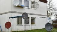 Abstellraum in Asylheim brennt
