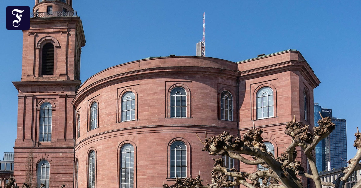 Paulskirche als verlängerte Parteizentrale