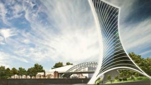Pläne für Luxushotel auf der Osthafenmole