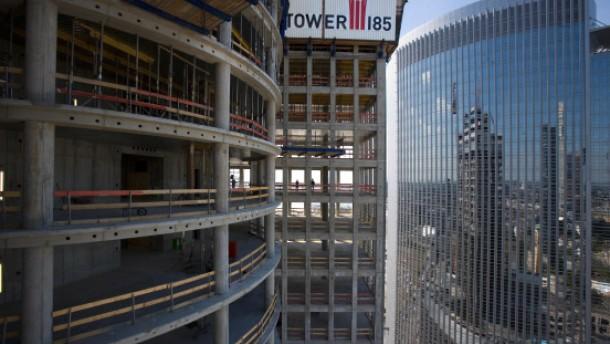 Tower 185 soll bis Ende 2011 fertig sein