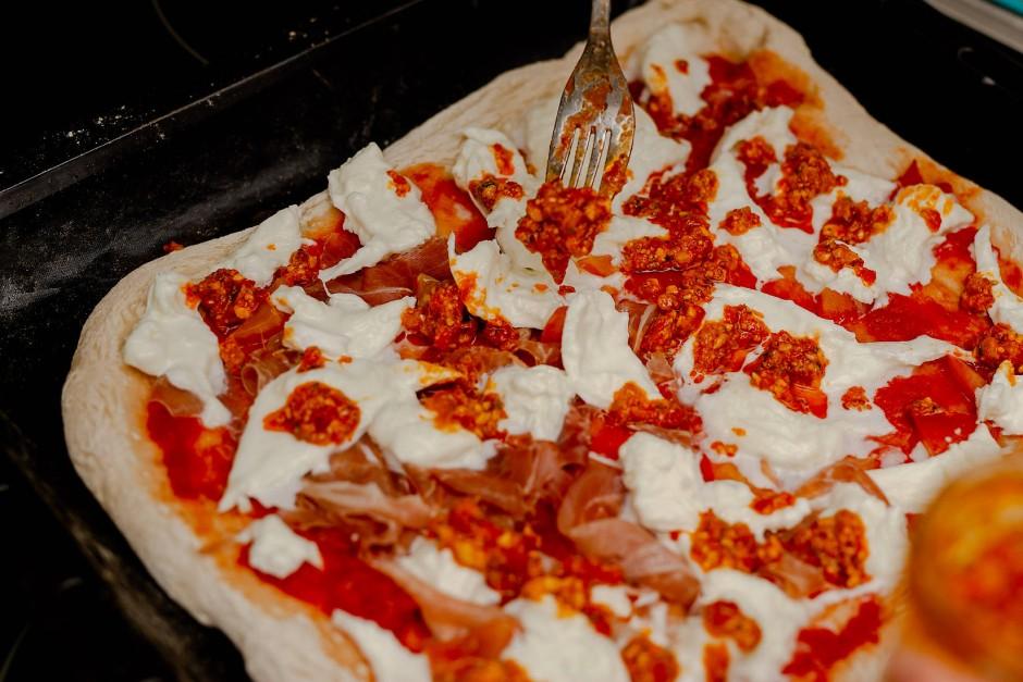 Quadratisch, praktisch, gut: Die Form der Pizza ist zweitrangig.