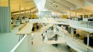 Offen: Der Alnatura-Neubau gleicht vielen Innovationszentren.