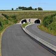 Streitpunkt: der Weiterbau der Autobahn 49