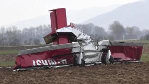 Ursache für Flugzeugabsturz auch nach Obduktion unklar