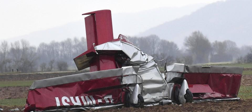 Ursache Für Flugzeugabsturz In Südhessen Auch Nach Obduktion Unklar